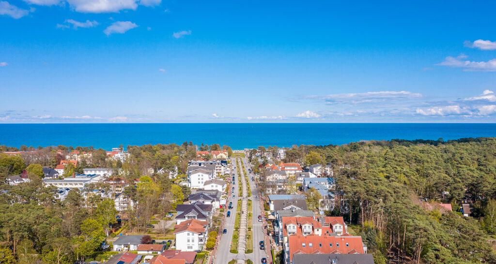 Luftbild Ostseebad Baabe